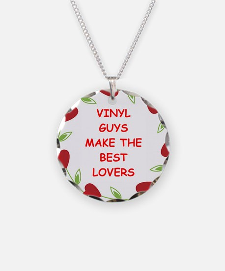 record collectors Necklace
