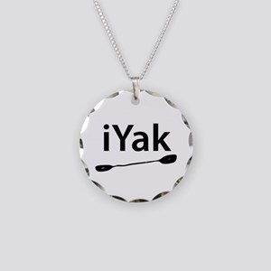 iYak Necklace Circle Charm