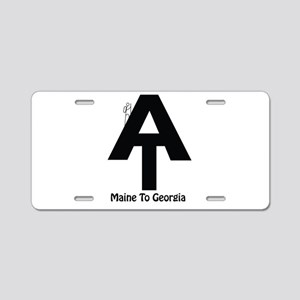 AT Hiker Aluminum License Plate