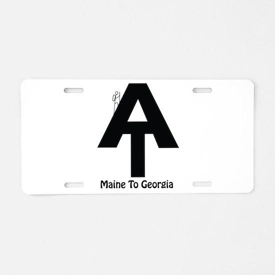 AT Hiker Aluminum License Plate
