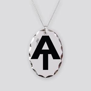 AT Hiker Necklace Oval Charm