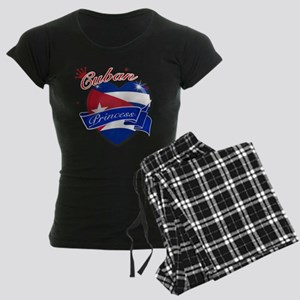 Cuban Princess Women's Dark Pajamas
