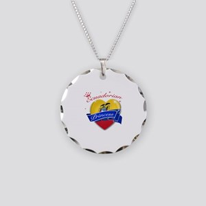 Ecuadorian Princess Necklace Circle Charm