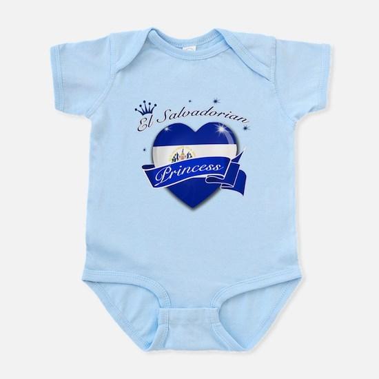 El Salvadorian Princess Infant Bodysuit