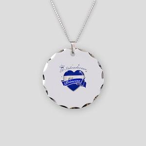 El Salvadorian Princess Necklace Circle Charm