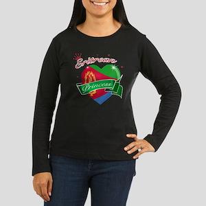Eritrean Princess Women's Long Sleeve Dark T-Shirt