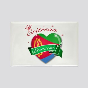 Eritrean Princess Rectangle Magnet