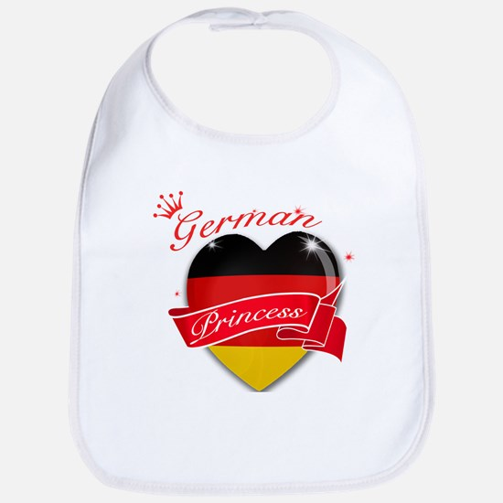 German Princess Bib