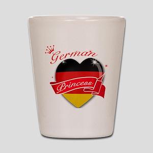 German Princess Shot Glass