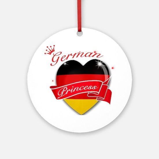 German Princess Ornament (Round)