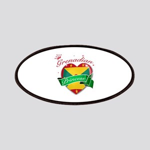 Grenadian Princess Patches