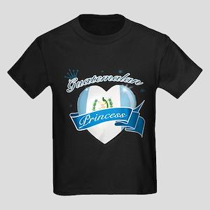 Guatemalan Princess Kids Dark T-Shirt