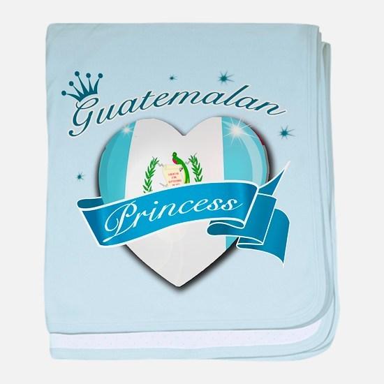 Guatemalan Princess baby blanket