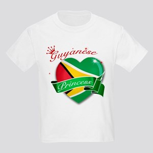 Guyanese Princess Kids Light T-Shirt