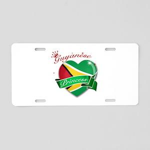 Guyanese Princess Aluminum License Plate