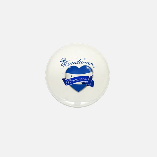 Honduran Princess Mini Button