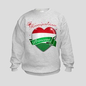 Hungarian Princess Kids Sweatshirt