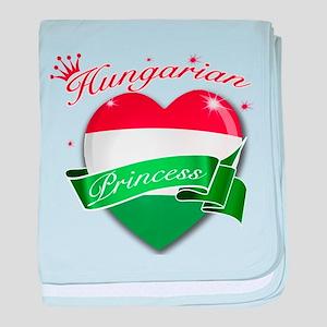 Hungarian Princess baby blanket