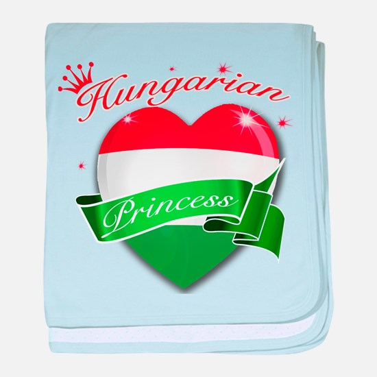 Hungarian Princess baby blanket