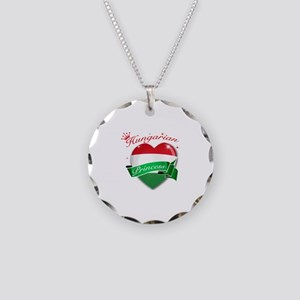 Hungarian Princess Necklace Circle Charm