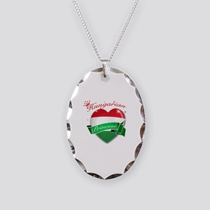 Hungarian Princess Necklace Oval Charm