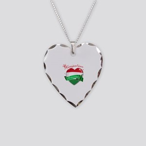 Hungarian Princess Necklace Heart Charm