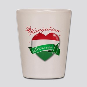 Hungarian Princess Shot Glass