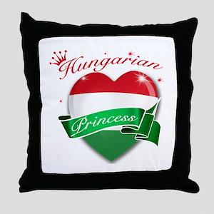Hungarian Princess Throw Pillow