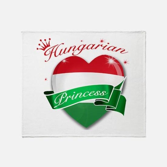 Hungarian Princess Throw Blanket