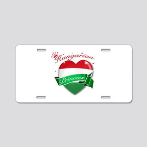 Hungarian Princess Aluminum License Plate