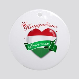 Hungarian Princess Ornament (Round)