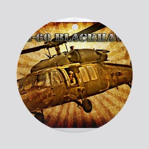 UH-60 Blackhawk Ornament (Round)