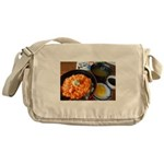 Sea urchin bowl Messenger Bag