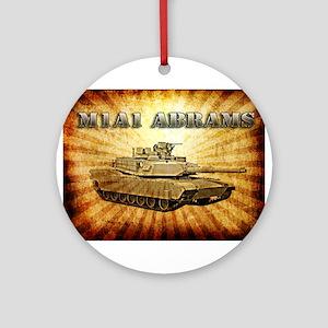 M1A1 Abrams Ornament (Round)