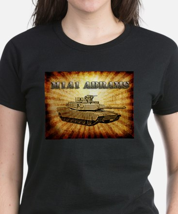M1A1 Abrams Women's Dark T-Shirt