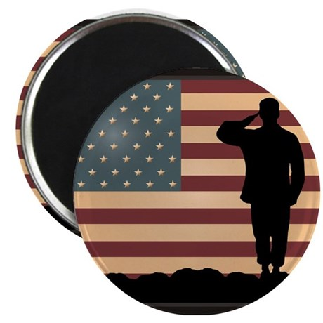 "Rocky Salute 2.25"" Magnet (100 pack)"