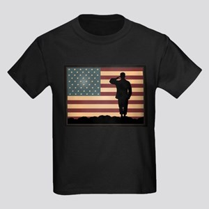 Rocky Salute Kids Dark T-Shirt