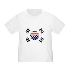 Korean-American Flag T