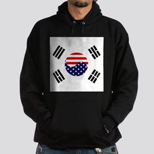 Korean-American Flag Hoodie (dark)