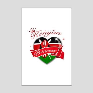 Kenyan Princess Mini Poster Print