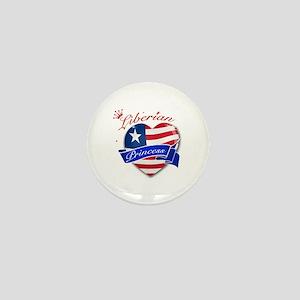 Liberian Princess Mini Button