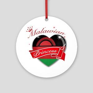 Malawian Princess Ornament (Round)