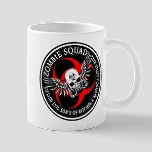 Zombie Squad 3 Ring Patch Rev Mug