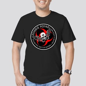 Zombie Squad 3 Ring Patch Rev Men's Fitted T-Shirt