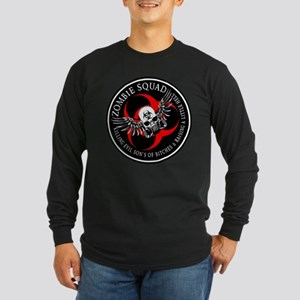 Zombie Squad 3 Ring Patch Rev Long Sleeve Dark T-S