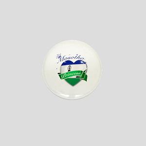 Mosotho Princess Mini Button
