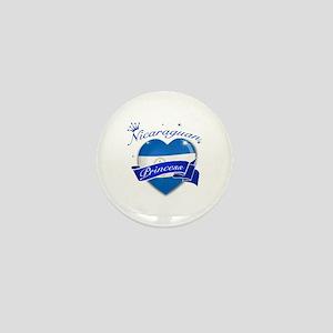Nicaraguan Princess Mini Button