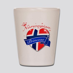 Norwegian Princess Shot Glass