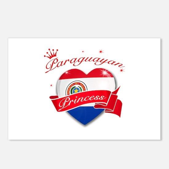 Paraguayan Princess Postcards (Package of 8)