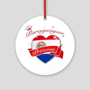 Paraguayan Princess Ornament (Round)